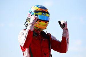 Race winner Logan Sargeant, Prema Racing