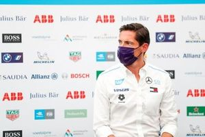 Ian James, Team Principal, Mercedes-Benz EQ, in the press conference