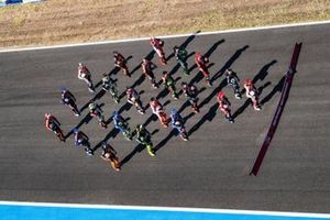 MotoGP-rijders in de line-up