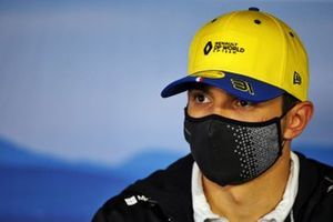 Esteban Ocon, Renault F1 in de persconferentie