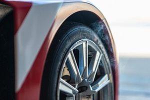 Деталь автомобиля Hyundai i30 TCR команды Lukoil Racing