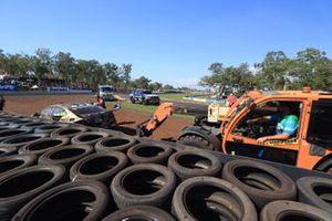 Jake Kostecki, Matt Stone Racing crash