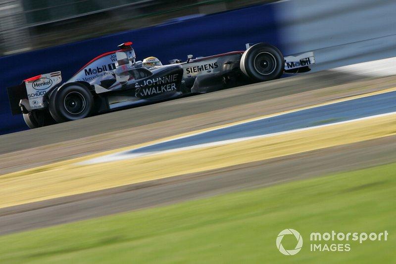 Lewis Hamilton, McLaren Mercedes MP4-21