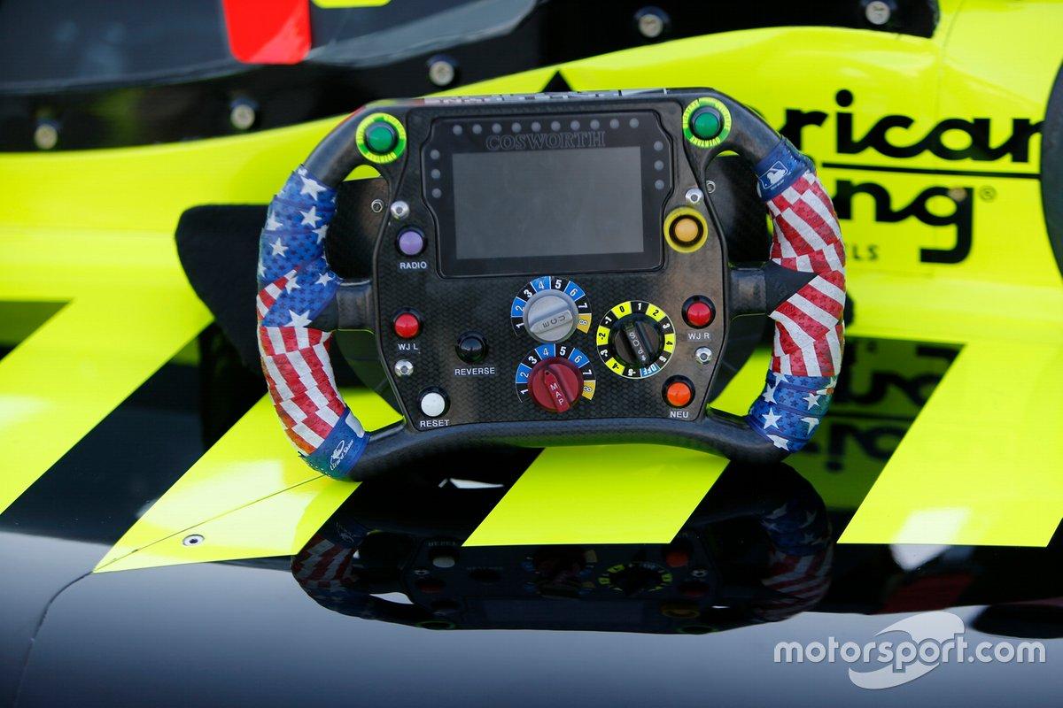 Il volante di Santino Ferrucci, Dale Coyne Racing Honda