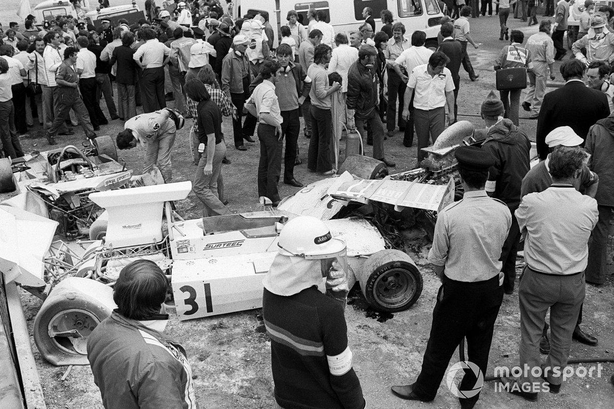 El Surtees TS14A de Jochen Mass