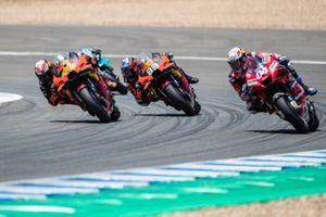 Andrea Dovizioso, Ducati Team, Pol Espargaro, Red Bull KTM Factory Racing, Brad Binder, Red Bull KTM Factory Racing