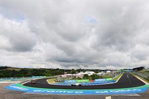 Даниэль Риккардо, Renault F1 Team R.S.20, Джордж Расселл, Williams FW43, прогревочный круг