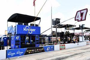 Boxenplatz: Ricky Stenhouse Jr., JTG Daugherty Racing