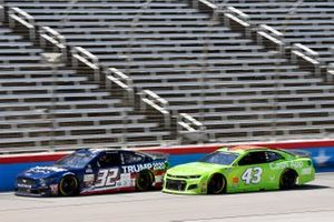 Corey LaJoie, Go FAS Racing, Ford Mustang Trump 2020 and Darrell Wallace Jr., Richard Petty Motorsports, Chevrolet Camaro Cash App