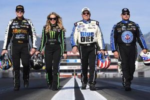 Austin Prock, Brittany Force, John Force, Robert Hight, John Force Racing