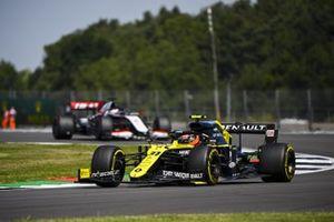 Esteban Ocon, Renault F1 Team R.S.20, Romain Grosjean, Haas VF-20