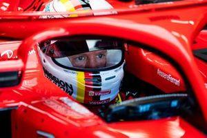 Seabstian Vettel, Ferrari