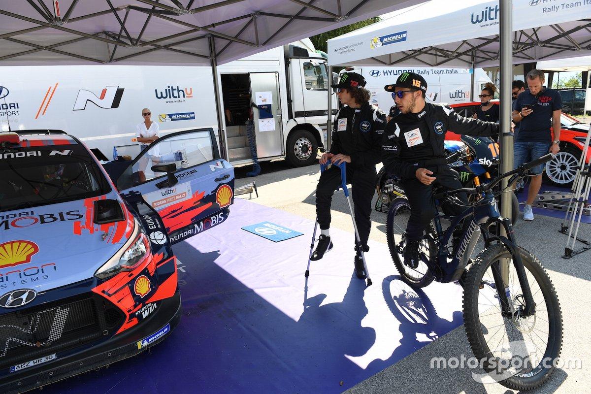 Hyundai I20 Coupe WRC, Marco Bezzecchi, Andrea Migno