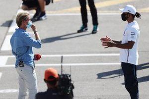 Lewis Hamilton, Mercedes-AMG Petronas F1 y Nico Rosberg