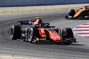 Felipe Drugovich, MP Motorsport, leads Jack Aitken, Campos Racing