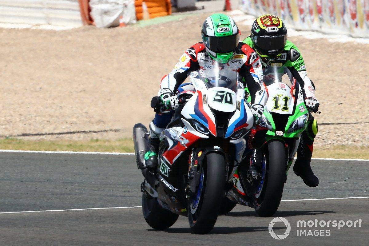 Sandro Cortese, Outdo Kawasaki TPR, Eugene Laverty, BMW Motorrad WorldSBK Team