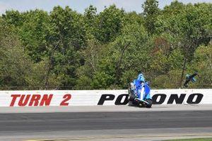 Crash: Felix Rosenqvist, Chip Ganassi Racing Honda