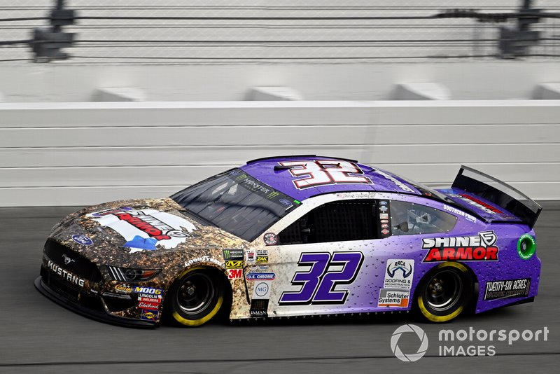 6. Corey LaJoie, Go FAS Racing, Ford Mustang