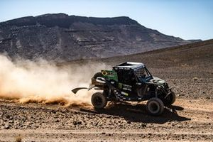 Рейнальдо Варела и Густаво Гужелмин на мотовездеходе Can-Am Maverick X3 категории SSV