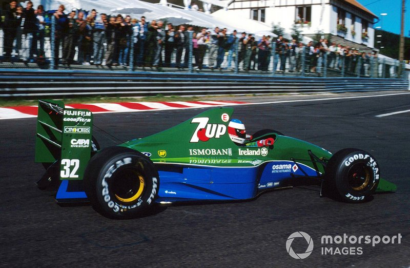 Michael Schumacher, Jordan 191 Ford