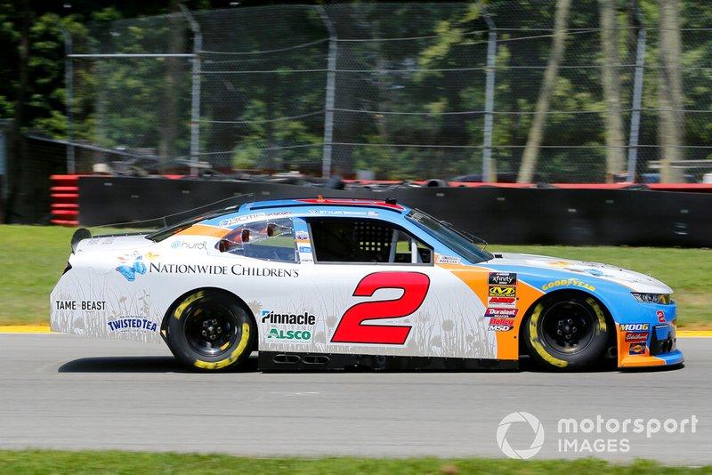 Tyler Reddick, Richard Childress Racing, Chevrolet Camaro Nationwide Children's Hospital