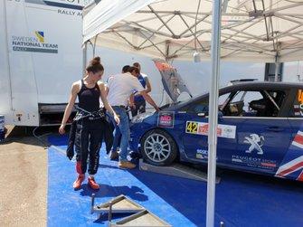 Кэти Мюннингс, Peugeot Rally Academy, Peugeot 208 R2