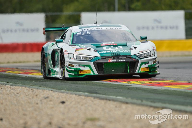 #129 Audi Sport Team Land Motorsport Audi R8 LMS GT3 2019: Christopher Mies, Riccardo Feller, Jamie Green
