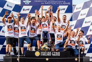 Repsol Honda Team celebrates 8th championship of Marc Marquez