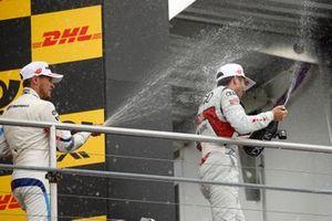 2. Marco Wittmann, BMW Team RMG, 3. Mike Rockenfeller, Audi Sport Team Phoenix