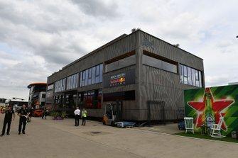 El edificio de Red Bull