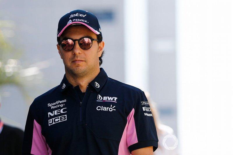 #18 Sergio Pérez, F1