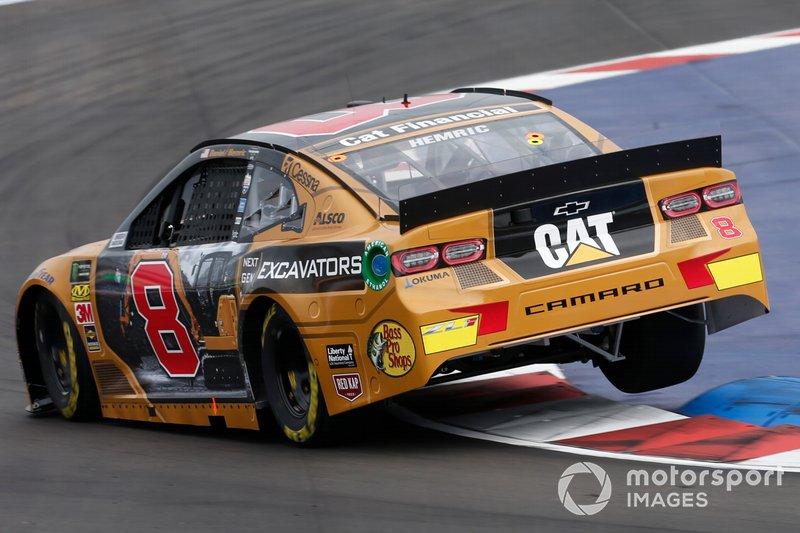 Daniel Hemric, Richard Childress Racing, Chevrolet Camaro Cat Next Gen Excavators