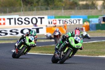 Lucas Mahias, Kawasaki Puccetti Racing, Hikari Okubo, Kawasaki Puccetti Racing