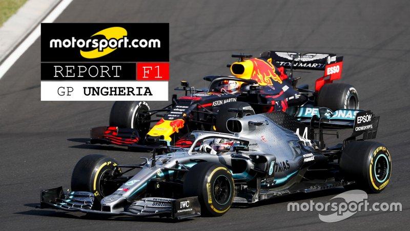 Copertina Report del GP d'Ungheria