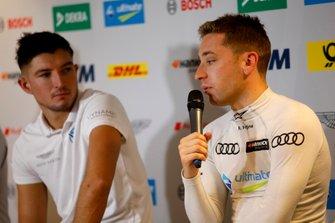 Джейк Деннис, R-Motorsport, и Робин Фрейнс, Audi Sport Team Abt Sportsline