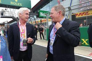 Philip Schofield and Martin Brundle