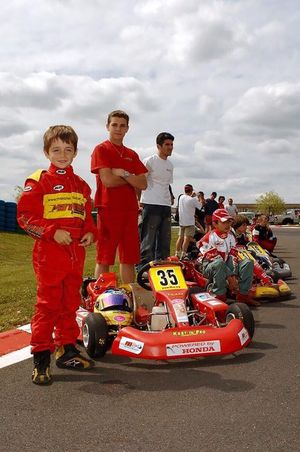 Jules Bianchi y Charles Leclerc
