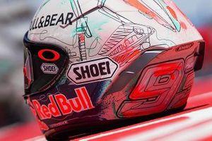 Helm im Sonderdesign: Marc Marquez, Repsol Honda Team
