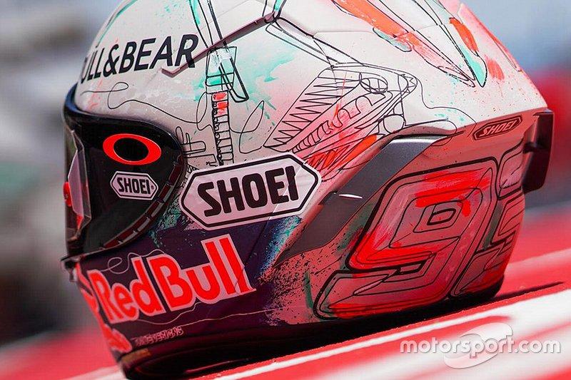 Capacete de Marc Márquez - GP da Catalunha