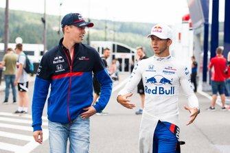 Daniil Kvyat, Toro Rosso, and Pierre Gasly, Toro Rosso
