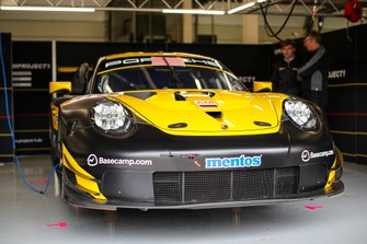 #57 Team Project 1 - Porsche 911 RSR: Ben Keating, Jeroen Bleekemolen, Felipe Fraga