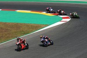 Chaz Davies, Aruba.it Racing-Ducati Team, Michael van der Mark, Pata Yamaha, Leon Haslam, Kawasaki Racing Team