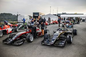Pre grid a Nurburgring