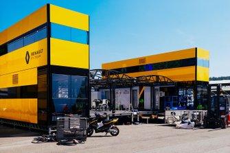 Motorhome della Renault F1 Team