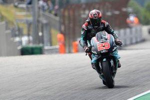 Fabio Quartararo, Petronas Yamaha SRT, Frenada