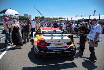 Grid, Shelton van der Linde, BMW Team RBM, BMW M4 DTM