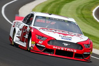 Ryan Blaney, Team Penske, Ford Mustang Wabash National