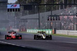 Max Fewtrell, ART Grand Prix en Marcus Armstrong, PREMA Racing