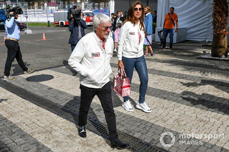 Bernie Ecclestone, Chairman Emiritus di Formula 1