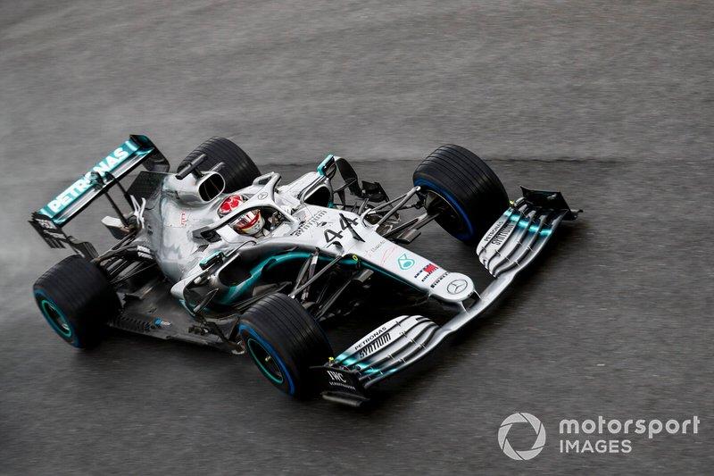 2 - Lewis Hamilton, Mercedes AMG F1 W10 - 1'19.346